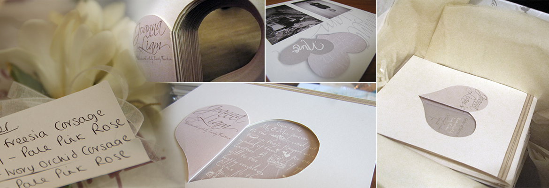 Wedding Invitations; Bespoke theme - Simple Hearts