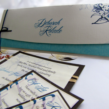 Wedding Stationery : Cool Lily